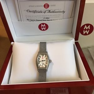 Michele Coquette Diamond Petite Watch Vintage